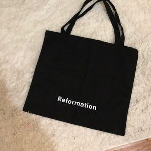 Brand New Reformation Tote